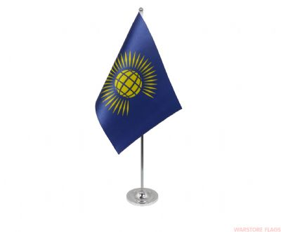 COMMONWEALTH - DELUXE SATIN TABLE FLAG